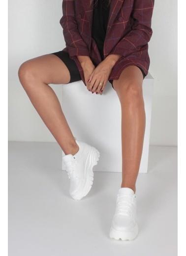 İnan Ayakkabı Bayan Spor Ayakkabı Beyaz
